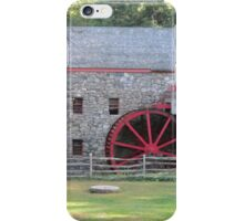 Longfellow's Wayside Inn Grist Mill 1929 iPhone Case/Skin