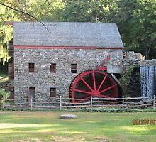 Longfellow's Wayside Inn Grist Mill 1929 by RPBURCH