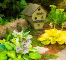 A Garden Corner by Marilyn Cornwell