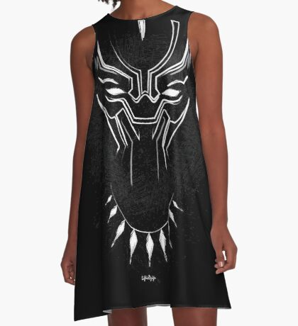 The Tribal Panther A-Line Dress