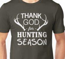 Thank God for Hunting Season Unisex T-Shirt