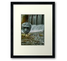 Listening to the Water Framed Print