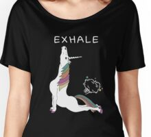 Unicorn Yoga Women's Relaxed Fit T-Shirt