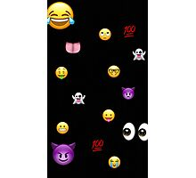 Emoji explode  Photographic Print