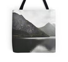 When moutains admire themselves Tote Bag
