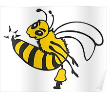 Bee Sting VRS2 Poster