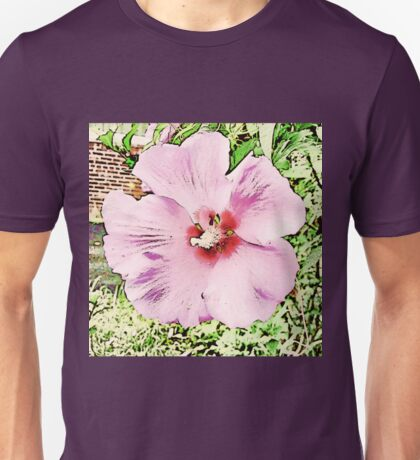 Pretty Rose Of Sharon Unisex T-Shirt