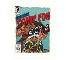 Comic Con 2014 Shirt Art Print