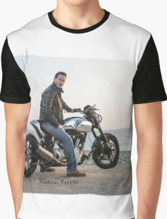 Sky is the Limit (Keanu Reeves Biker) Graphic T-Shirt