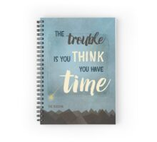 Time (Buddha) Spiral Notebook