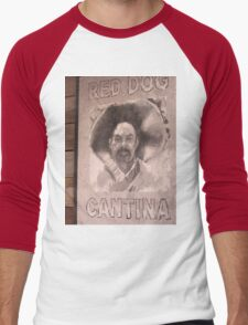 Red Dog Cantina Men's Baseball ¾ T-Shirt