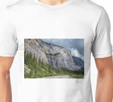 Weeping Wall Banff National Park Unisex T-Shirt