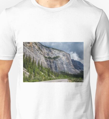 Weeping Wall Banff National Park Unisex T-Shirt