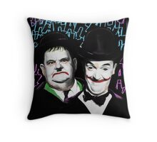 A Pair of Jokers Throw Pillow