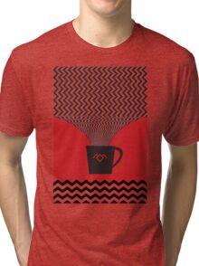 a damn fine cup of coffee Tri-blend T-Shirt