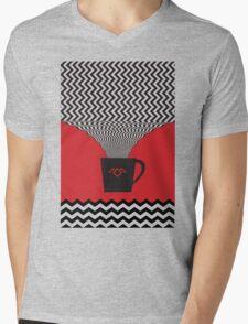 a damn fine cup of coffee Mens V-Neck T-Shirt