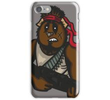 Action Guinea Pig iPhone Case/Skin