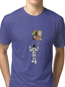 ASTRONOT RULE THE UNIVERSE Tri-blend T-Shirt