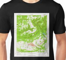 USGS TOPO Map Arkansas AR Hunt 258791 1963 24000 Unisex T-Shirt