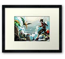 Pokemon Battle Framed Print