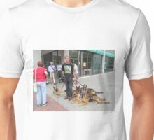 German Shepard Dog Walker Unisex T-Shirt