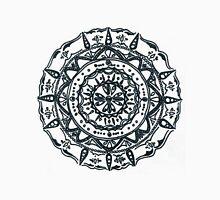 Hindu/ Buddhist Black and White Mandala T-Shirt