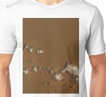 Clouds Over Rub al Khali Desert Saudia Arabia Satellite Image Unisex T-Shirt