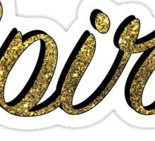 Gold Spirit Sticker