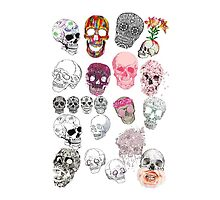 Skull Collage by LivsDoodles