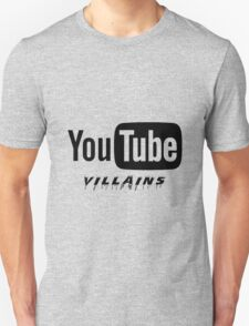 Youtube Villains Unisex T-Shirt