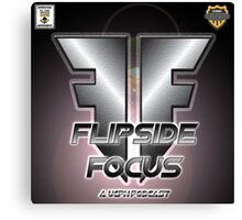 #UCPN Flipside Focus Canvas Print