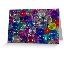 Bubbles Abstract Greeting Card