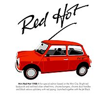 Classic 1988 Mini Red Hot Photographic Print
