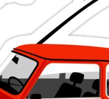 Classic 1988 Mini Red Hot Sticker