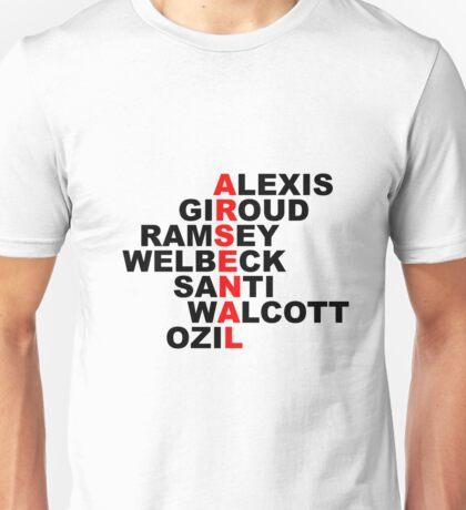 arsenal red Unisex T-Shirt
