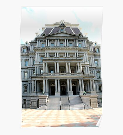Eisenhower Executive Office Building Poster