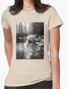 Down By the Creekbed Womens Fitted T-Shirt