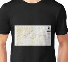 USGS TOPO Map Arkansas AR Searcy 260430 1986 100000 Unisex T-Shirt