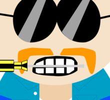 Village People VS South Park - Construction Worker Sticker