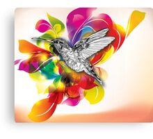 Flights of Color Canvas Print
