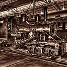 Old Climax Engine No 4 by ©  Paul W. Faust