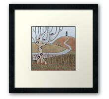 One Tor Hill Framed Print