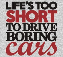 Life's too short to drive boring cars (4) by PlanDesigner