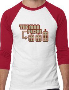 The Man Pedal (4) Men's Baseball ¾ T-Shirt