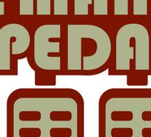 The Man Pedal (4) Sticker