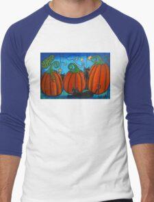 A Frolicking Fall Men's Baseball ¾ T-Shirt
