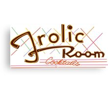The Frolic Room Canvas Print