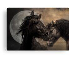 The Horse as Horse-Ess Canvas Print