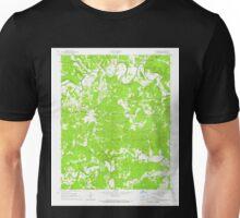 USGS TOPO Map Arkansas AR Poughkeepsie 259440 1965 24000 Unisex T-Shirt