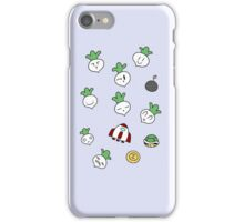 SMB2 Turnips and Items iPhone Case/Skin